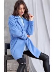 Прямое пальто демисезонное