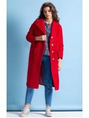 Стильное демисезонное пальто на подкладке