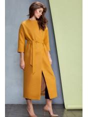 Элегантное демисезонное пальто на подкладке