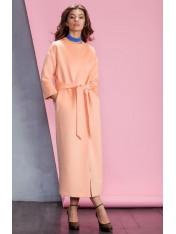 Элегантное длинное пальто на подкладке