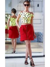 Модная мини юбка